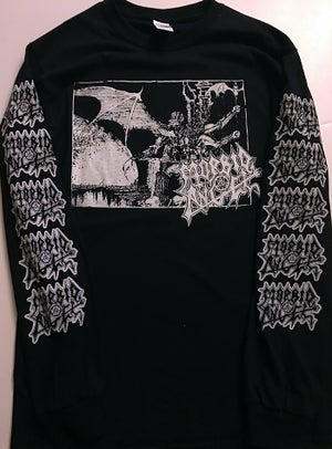 "Image of Morbid Angel "" Abominations "" Long Sleeve T shirt"