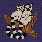 Image of Lemurs T-shirt - Navy