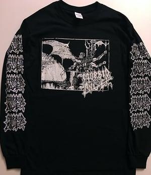 "Image of Morbid Angel "" Abominations "" Long Sleeve T shirt"