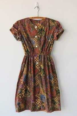 Image of SOLD Batik Print Dress