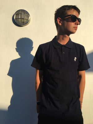 Image of Dwayne Polo Shirt - Navy