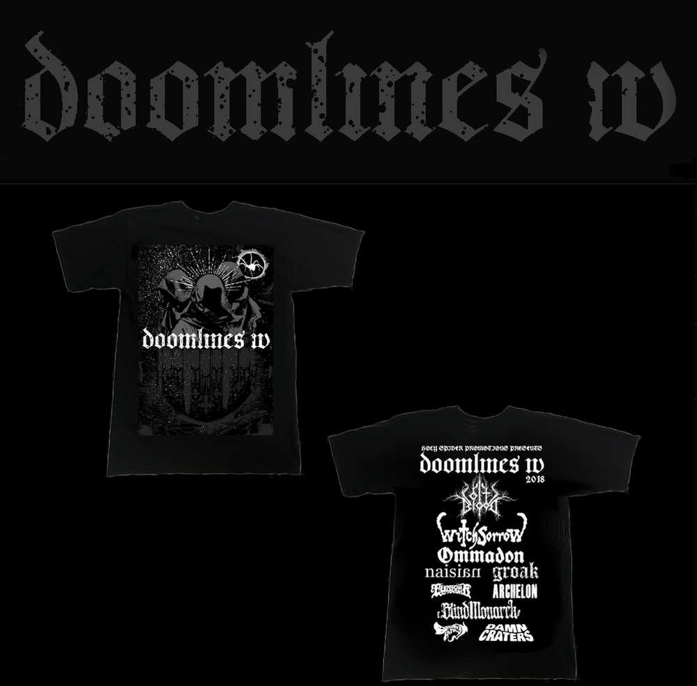 Image of Doomlines IV T-shirt *LAST FEW LEFT*
