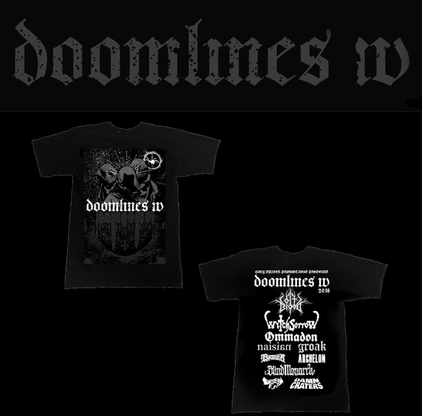 Image of Doomlines IV T-shirt *LAST FEW LEFT*