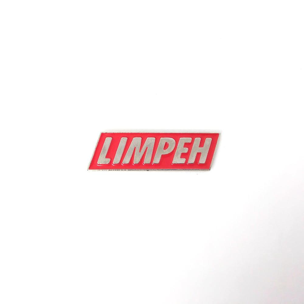 Image of LIMPEH box logo pin by @skl0_