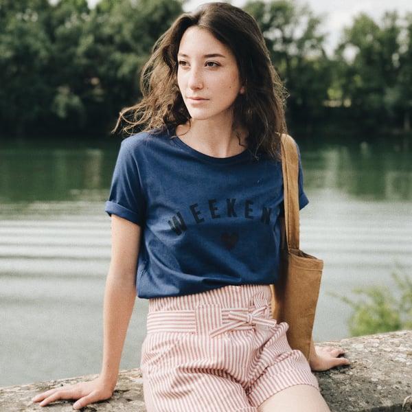 Tee-Shirt Maison Bleu - Maison Brunet Paris