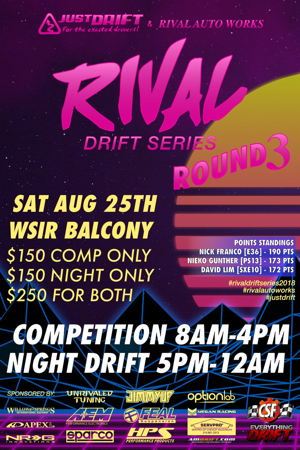 Image of Rival Drift Series - Round 3