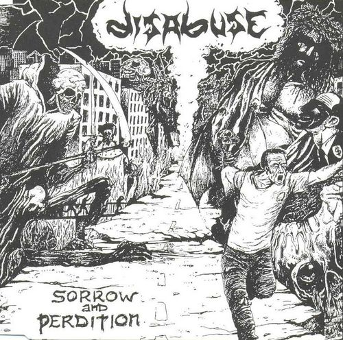 Image of Disabuse - Sorrow And Perdition CD