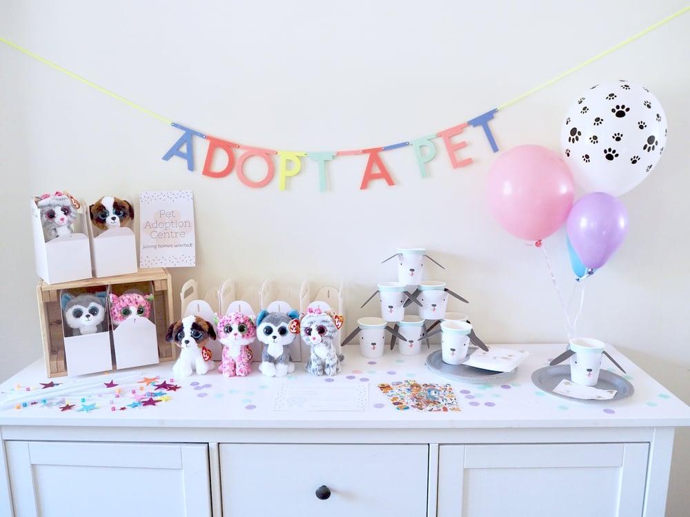 Image of Adopt a Pet Party Box Kit