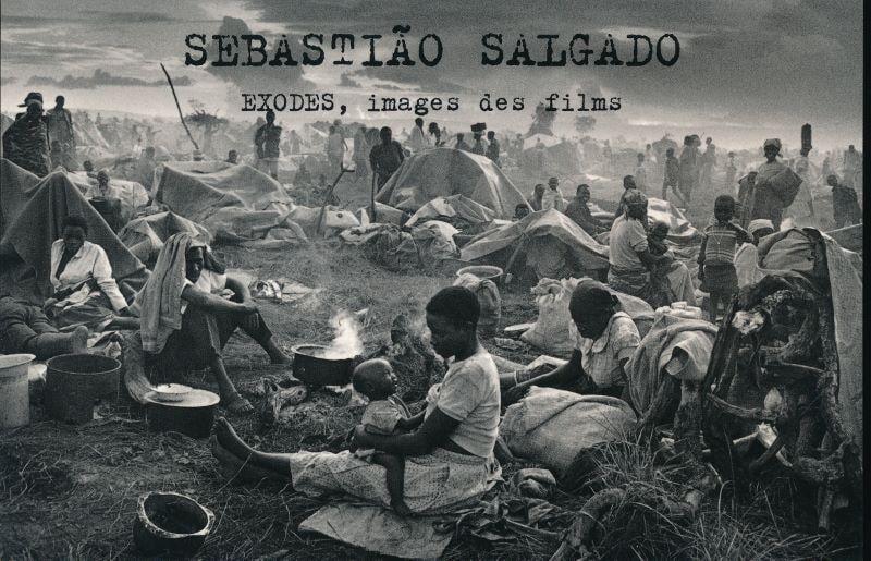 Image of Exodes, images des films réalisés par Alain Taieb SALGADO Sebastiao