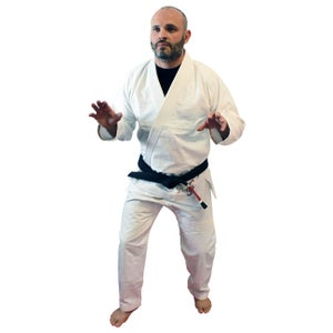 Image of Ground Control Adult All Play White Gi
