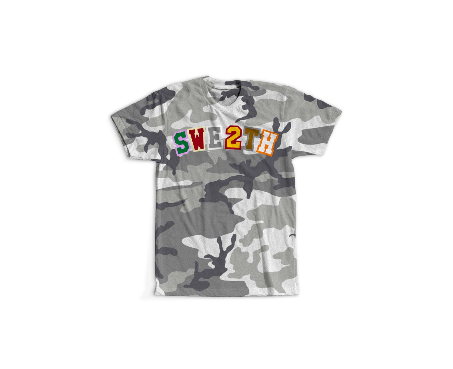 Image of Now Later Player Tee Urban Camo