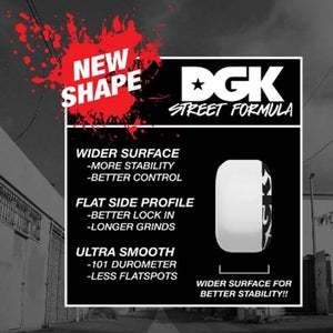 Image of DGK STREET FORMULA WHEELS 51mm