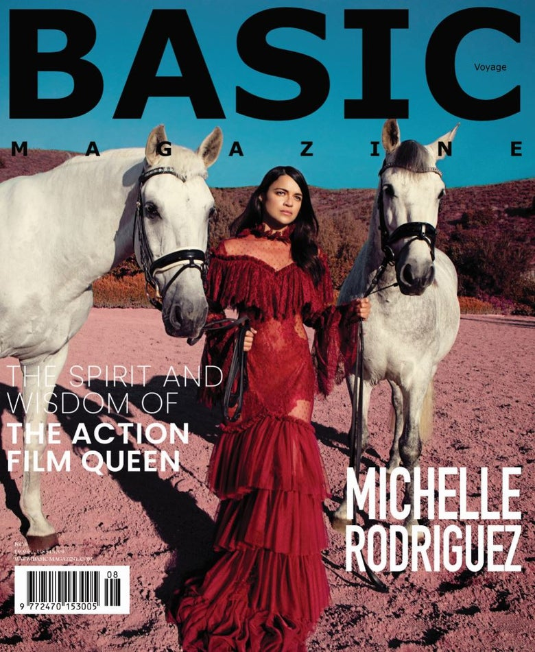Image of BASIC Michelle Rodriguez Cover. Voyage Issue