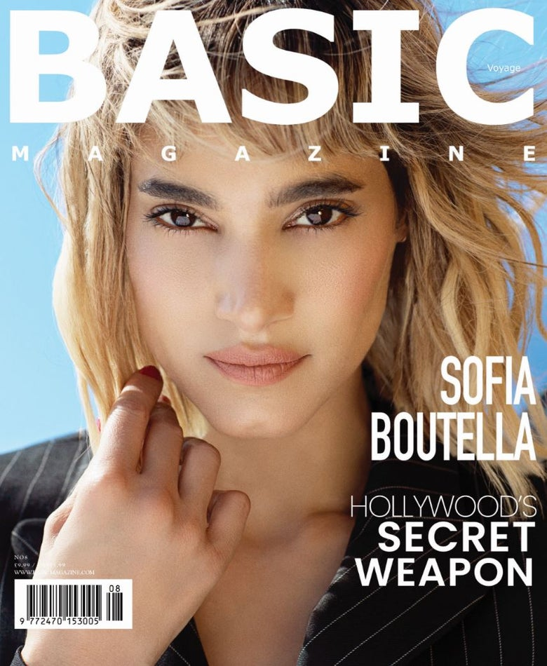 Image of BASIC Sofia Boutella Cover. Voyage Issue