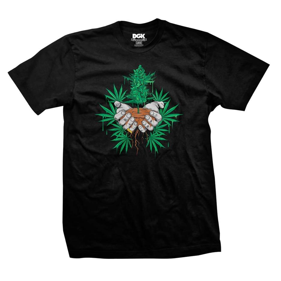 Image of DGK ROOTS TSHIRT BLACK