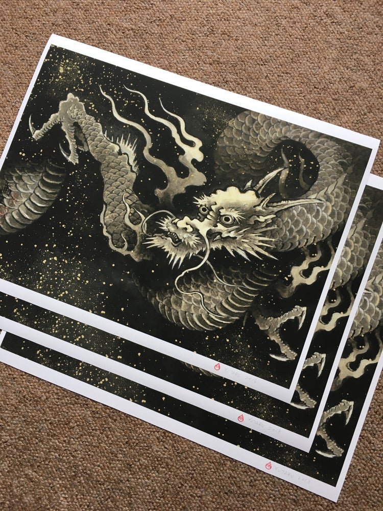 Image of Golden dragon by yutaro