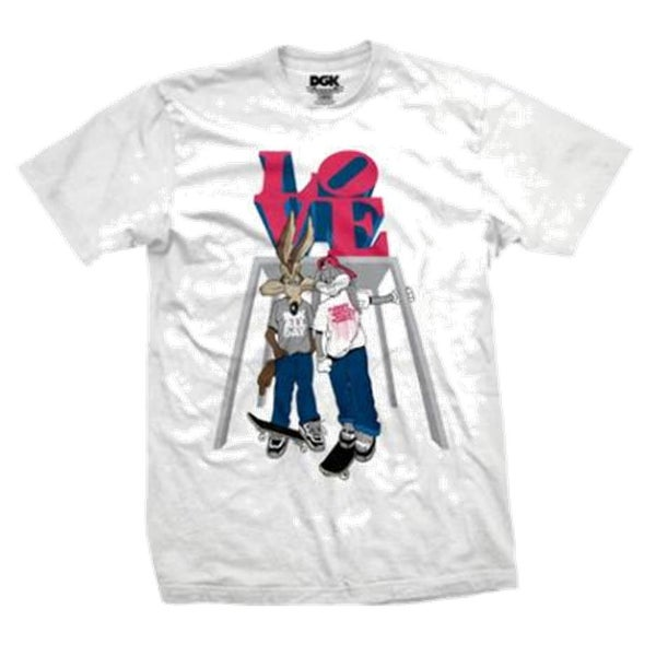 Image of DGK LOVE LIMITED NYC TSHIRT WHITE