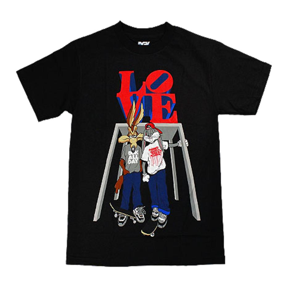 Image of DGK LOVE LIMITED NYC TSHIRT BLACK
