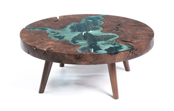 Image of round confluence river® table