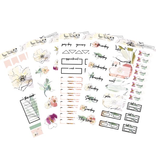 Image of Modern Botanicals Sticker Kit