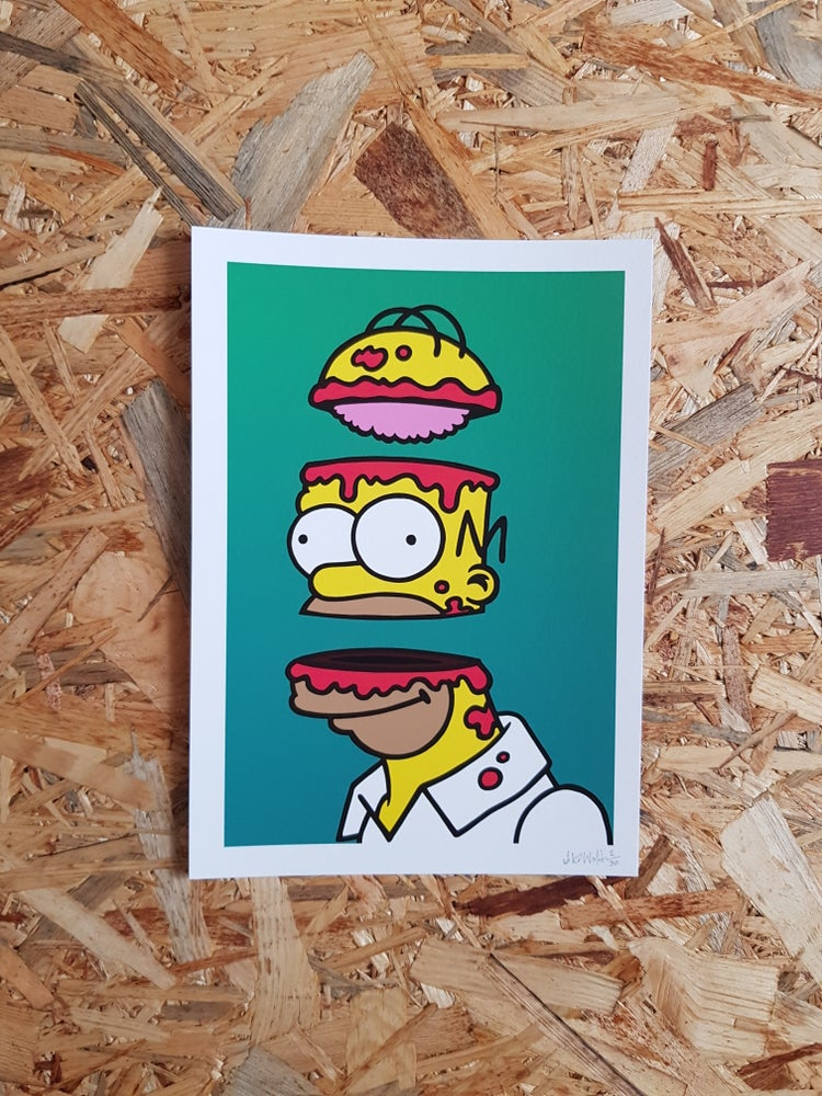 Image of Homer -  A4 - Limited edition giclée print