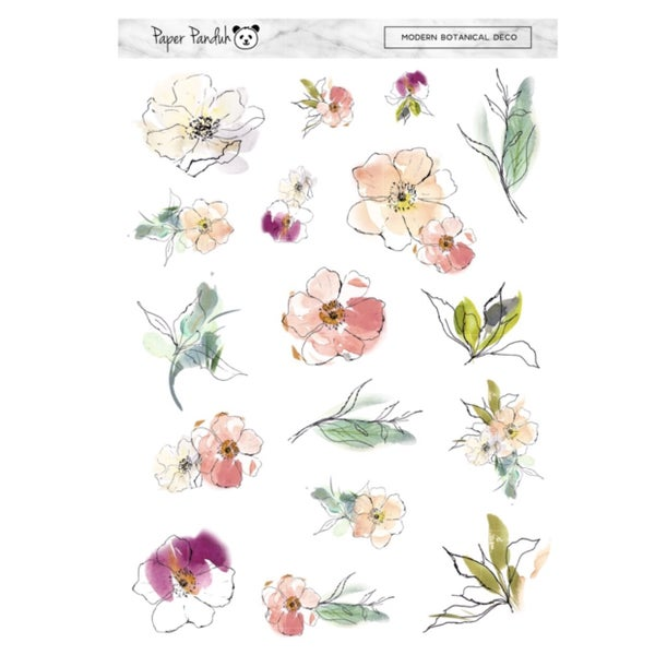 Image of Modern Botanicals Deco Sheet