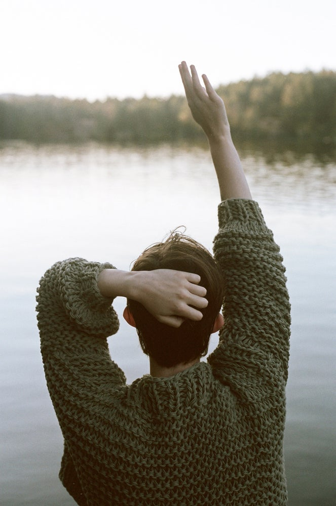 Image of BATEAU CROP SWEATER