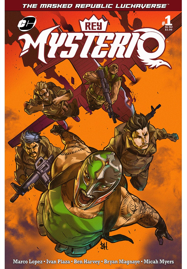 Image of Masked Republic Luchaverse: Rey Mysterio #1 One-Shot