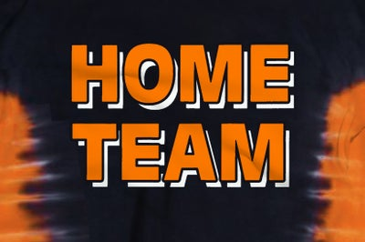Image of HOME TEAM Orange & Black
