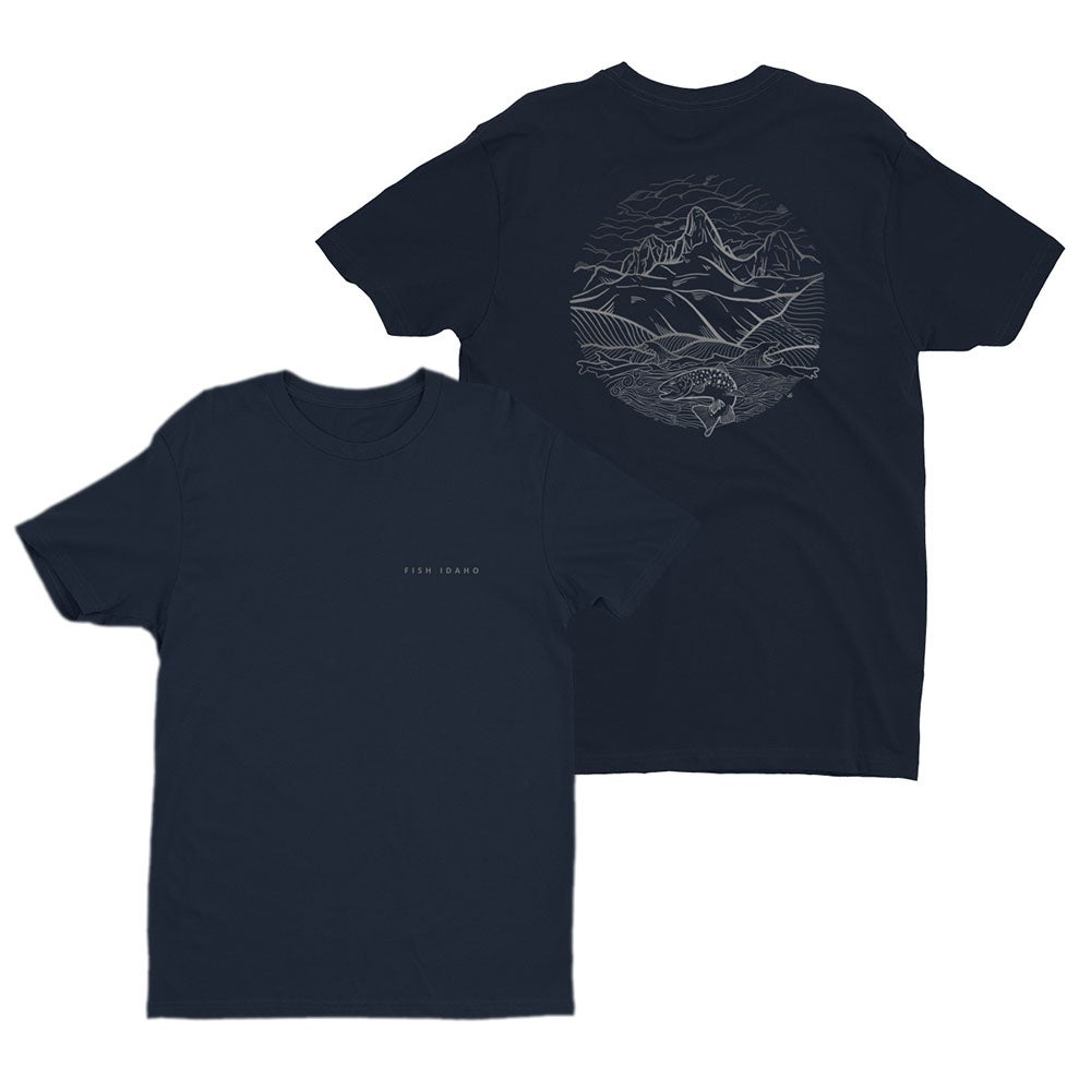 Image of Fish Idaho Tee