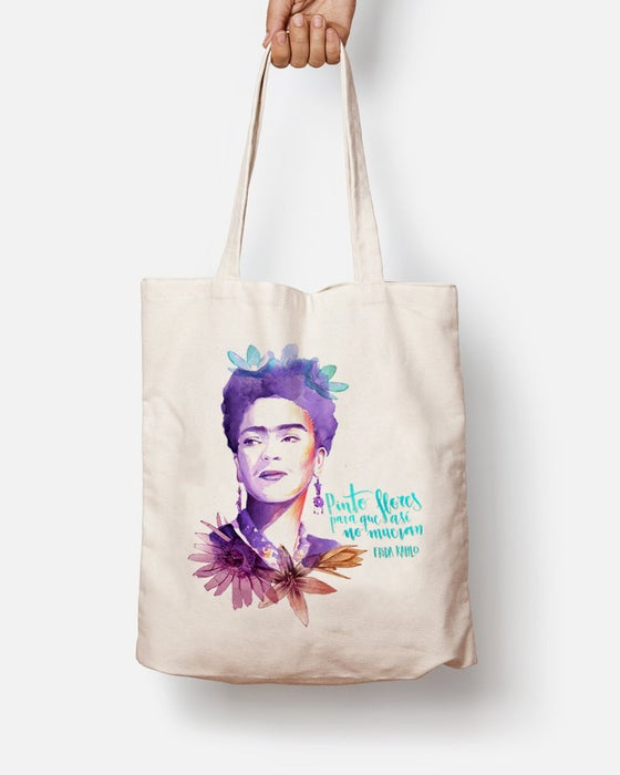 Image of TOTEBAG FRIDA FLORS