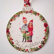 Image of Personalised Family Christmas Decoration