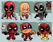 Image of Evolution of Deadpool
