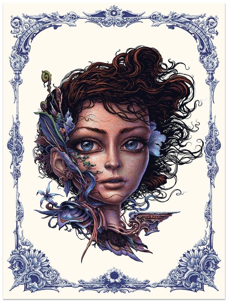 "Image of ""Vernal"" limited edition art screenprint"