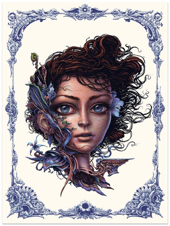 "Image of ""Vernal"" limited edition art screenprint"