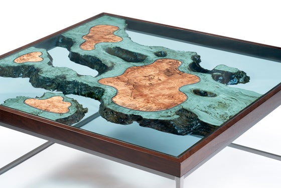 Home Greg Klassen - Topographic coffee table