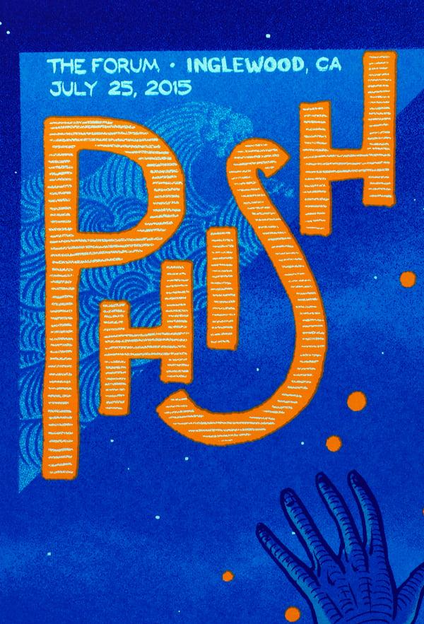 Image of Phish - Los Angeles 2015
