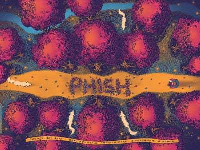 Image of Phish - Birmingham, AL 2012