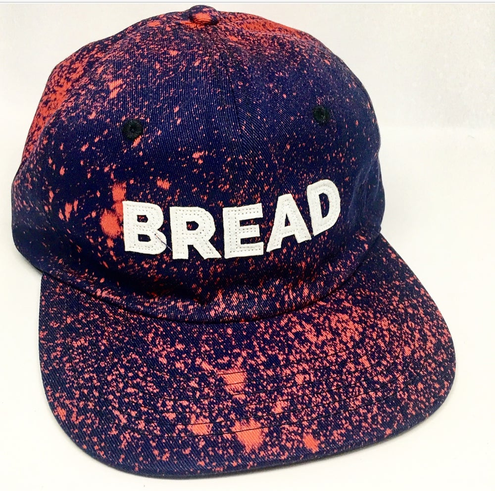 Image of Blue BREAD unconstructed  strapback