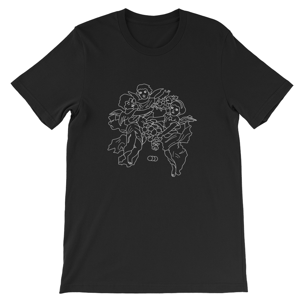Image of Angel T-shirt (Black)