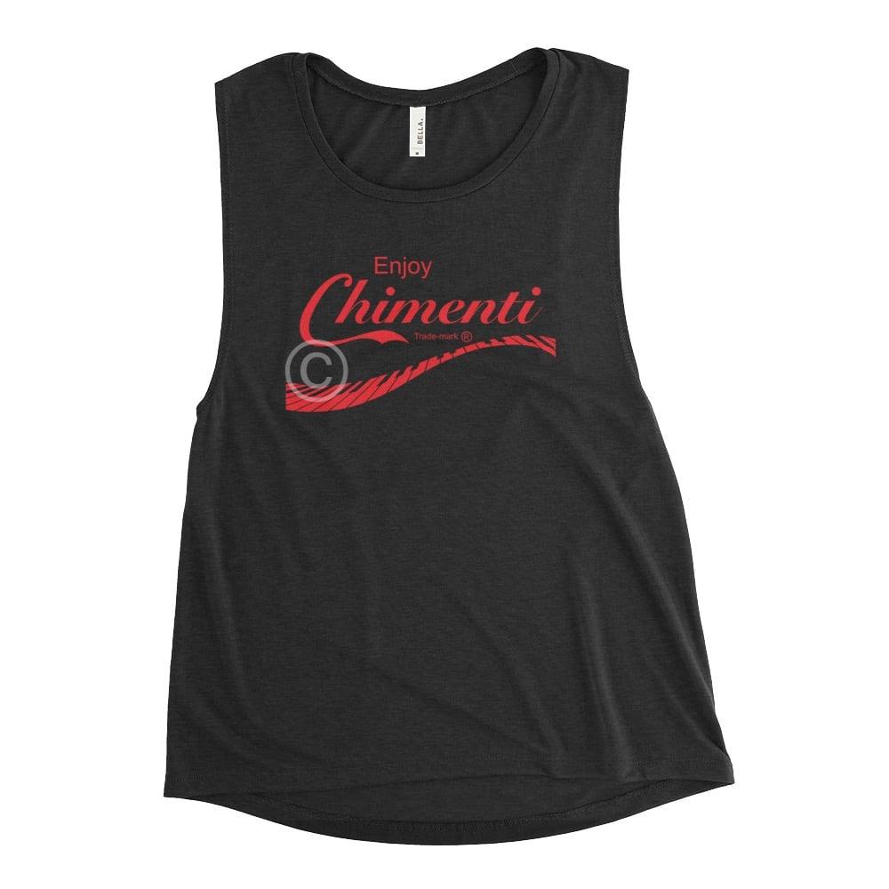 Enjoy Chimenti Women's Muscle Tank!!