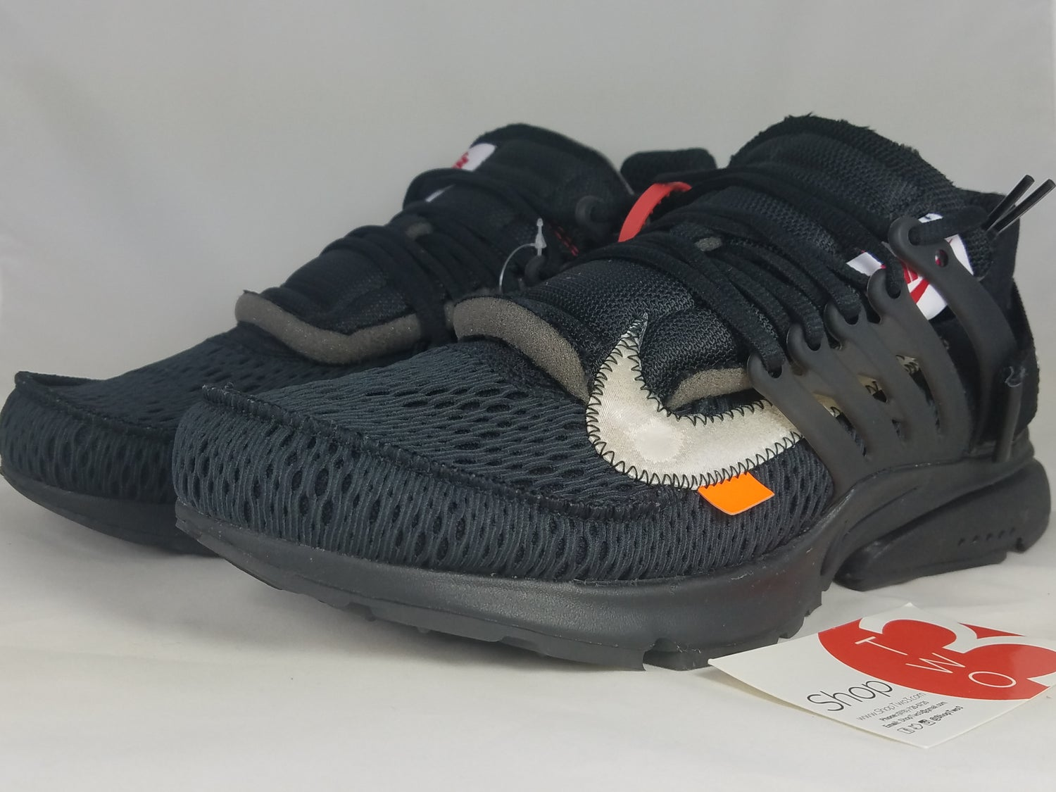 "Image of Nike Air Presto Off-White ""Black"""