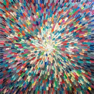 Image of Universum ratio - 101x101cm