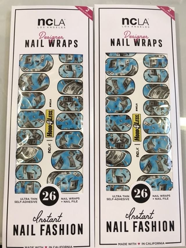 Image of Fallen Money Designer Nail wraps