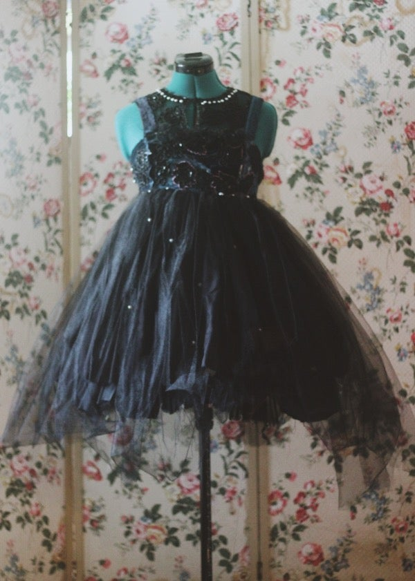 Image of Gothic rose garden gown