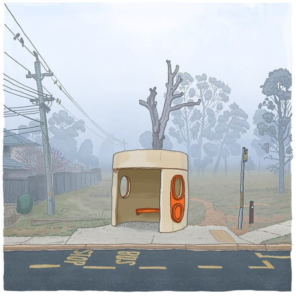 Image of Kambah, Barritt Street, digital print