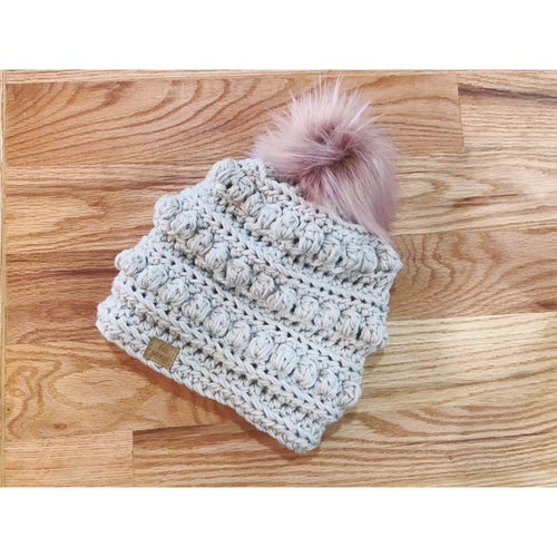 Image of Child Size Bobble Beanie