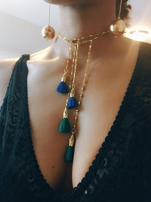 Image of D.Y.S.O. Tassel Necklace