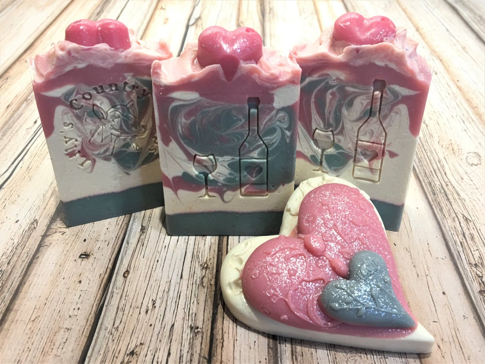 Image of Pink Moscato Goat Milk & Wine Soap