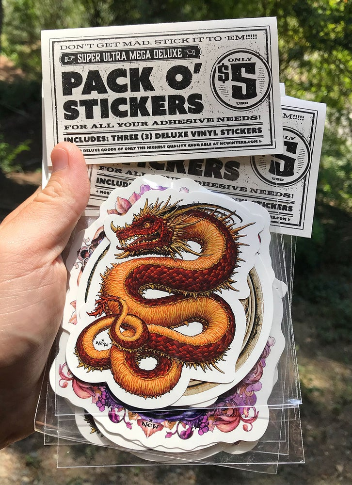 Image of Pack O' Stickers